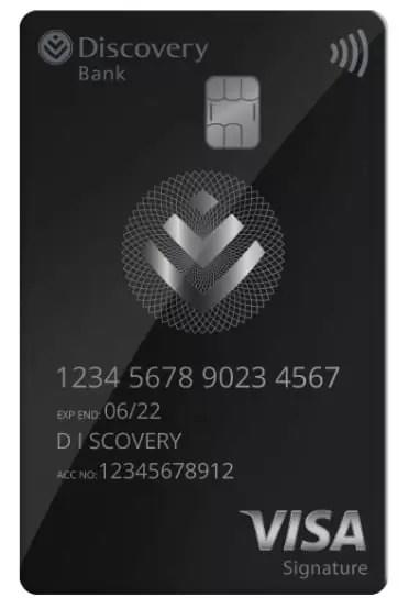 Discovery Black Debit Card