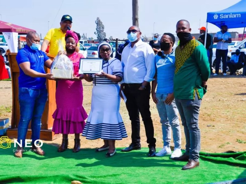 Shining a light on unsung community heroes with Standard Bank and the Rouxville Development Agency