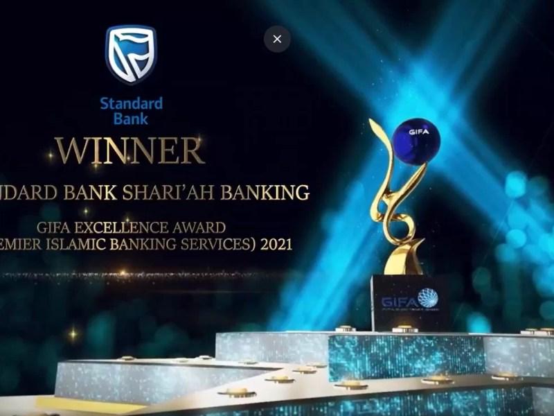 Standard Bank Shari'ah Banking wins the 2021 Global Islamic Finance Award