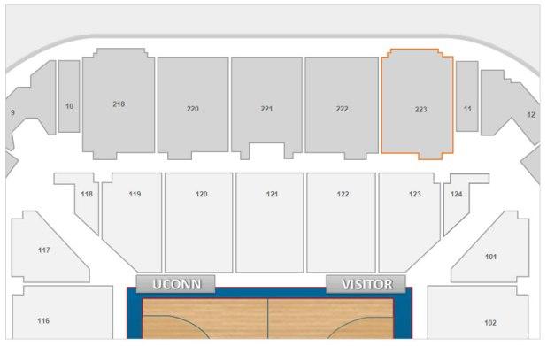 Gampel Pavilion Seating Chart Brokeasshome Com