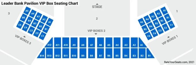 Blue hills bank pavilion seating chart viewkaka co