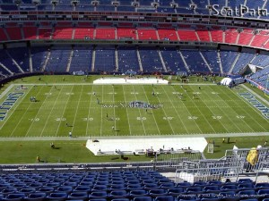 Nissan Stadium Section 313  Tennessee Titans