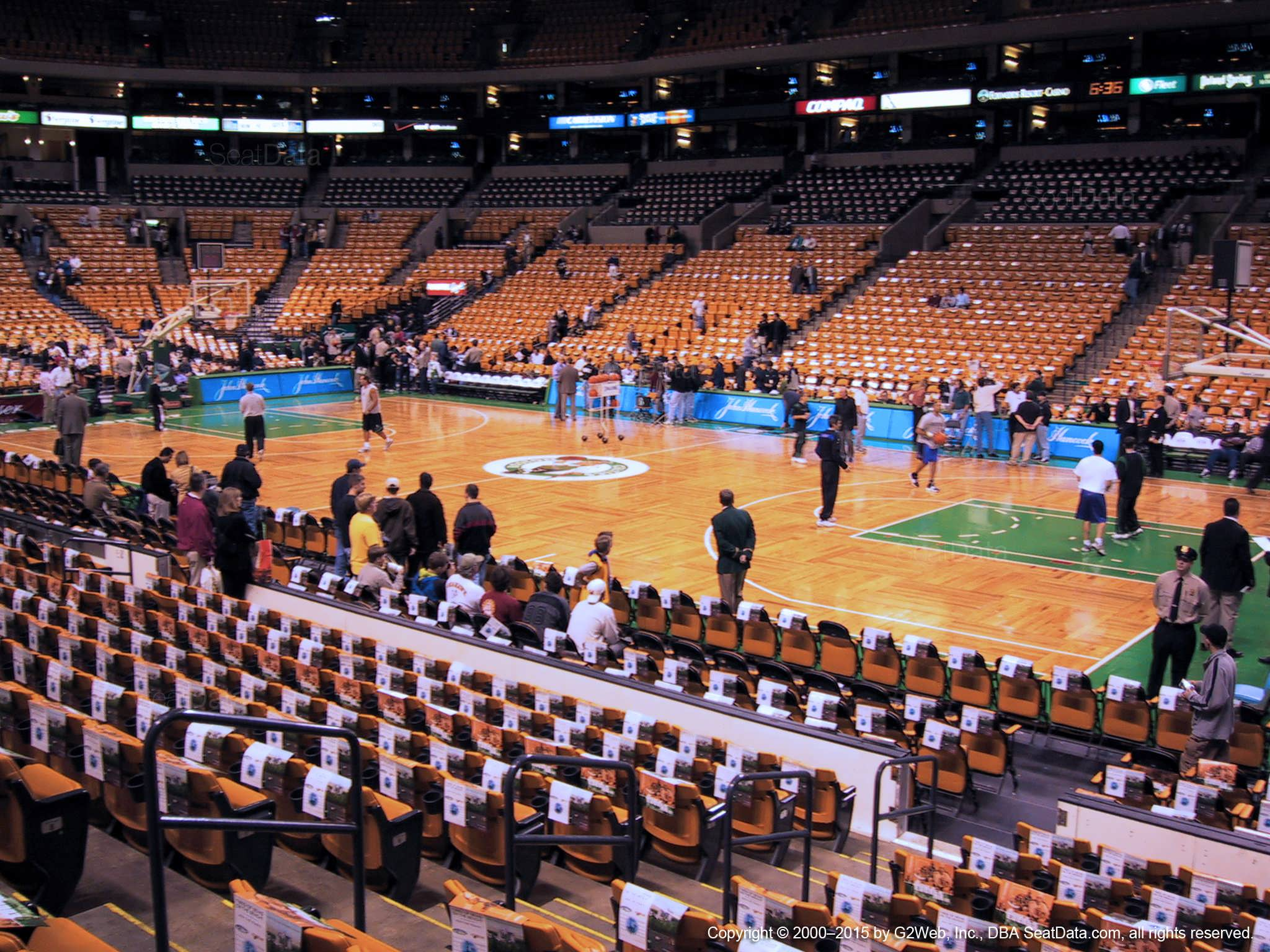 TD Garden Loge 10 Boston Celtics