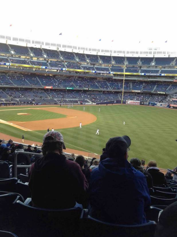New York Yankees Seat View For Yankee Stadium Section 210