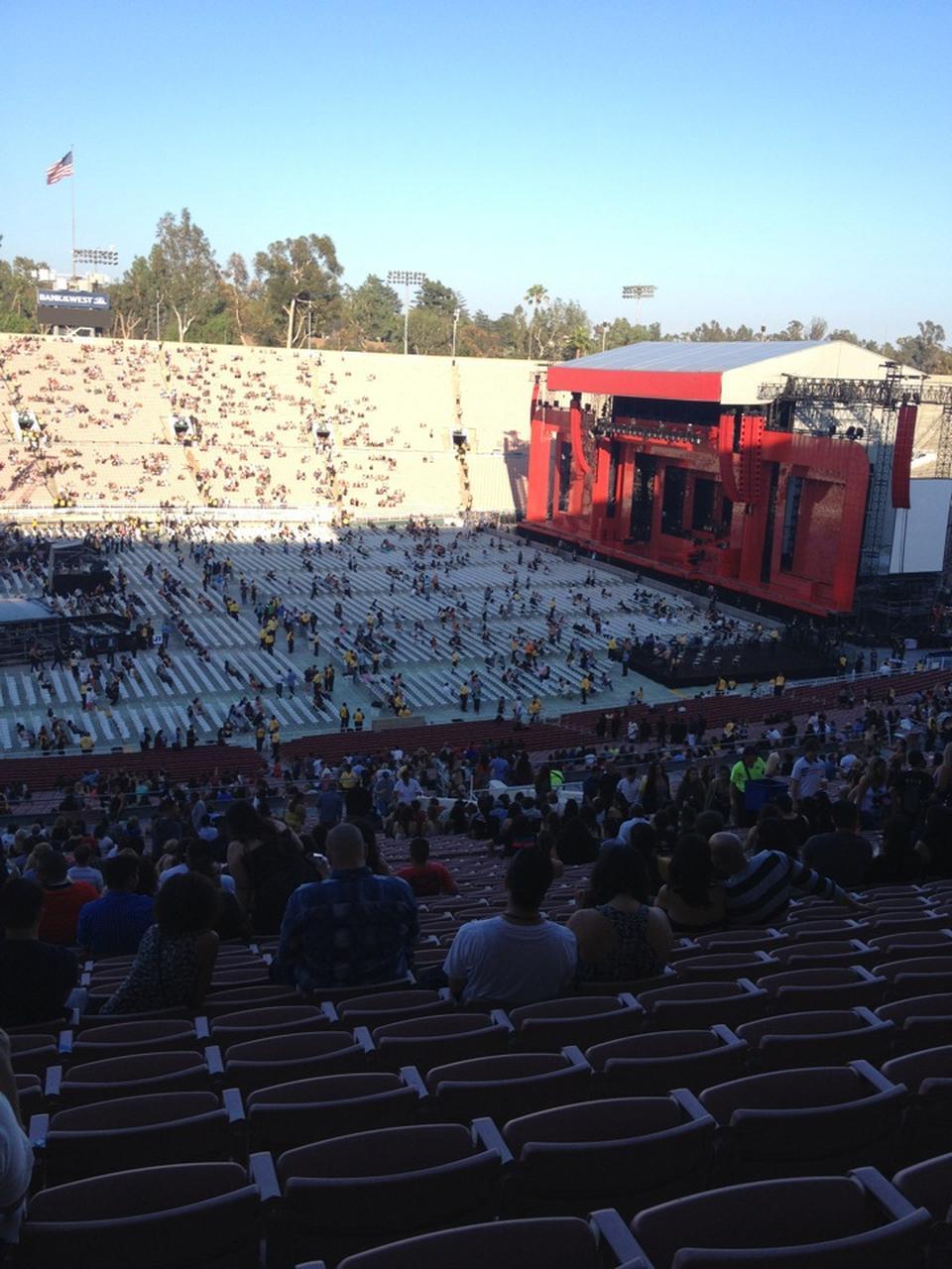 rose bowl seating chart concert wallseatco