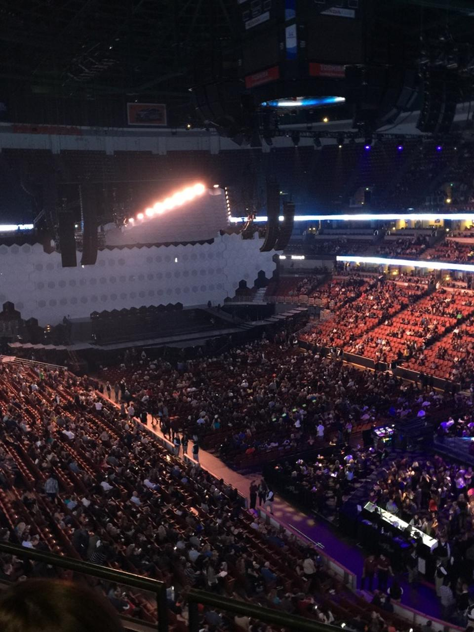 Honda Center Section 405 Concert Seating Rateyourseats Com
