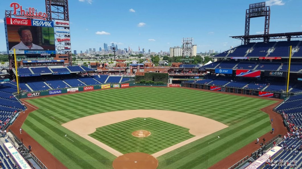 Citizens Bank Park Seating Chart Hall Of Fame Club Wallseatco