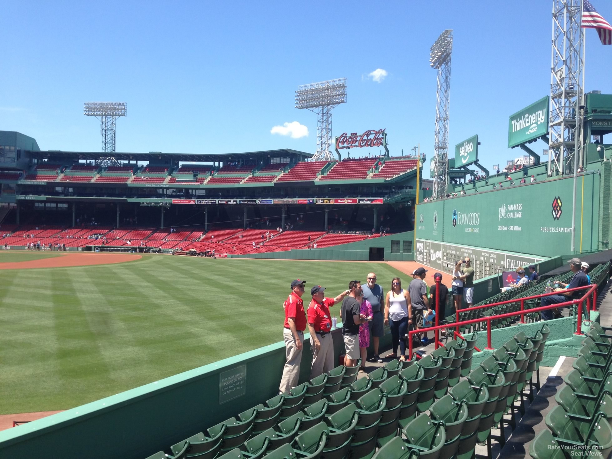 Boston Fenway Park Seating Chart