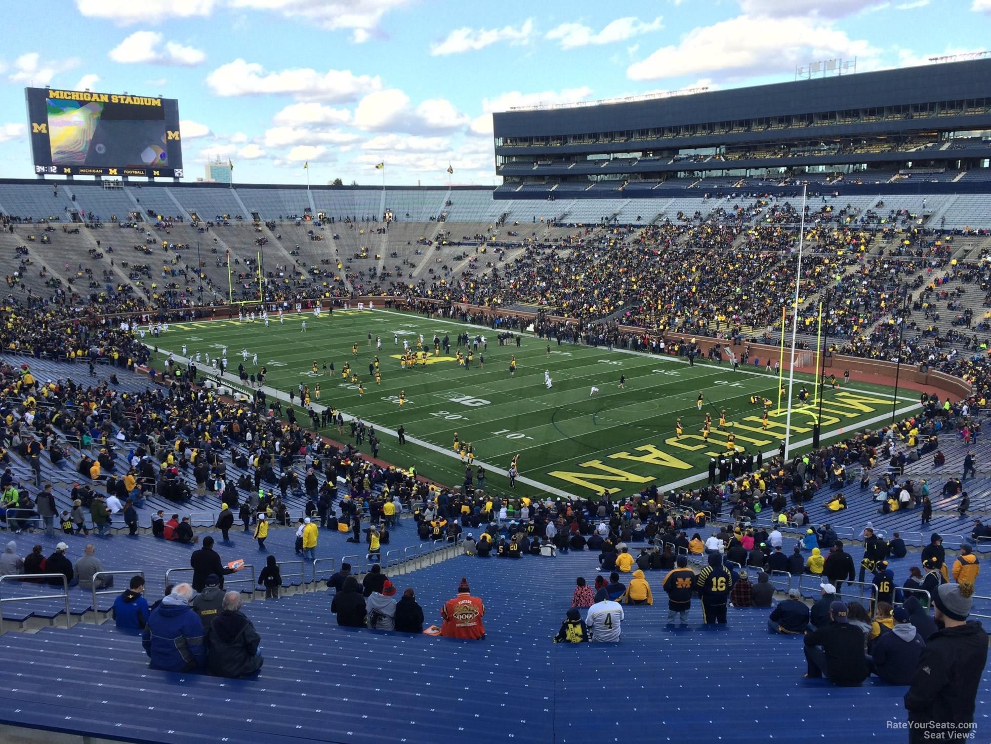 Michigan Stadium Section 17 Rateyourseats Com