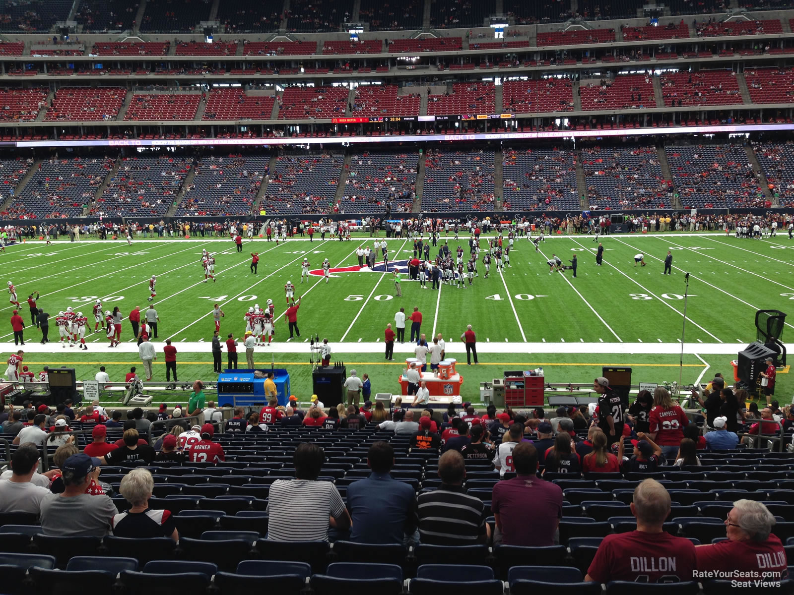 Nrg Stadium Section 126 Houston Texans Rateyourseats Com