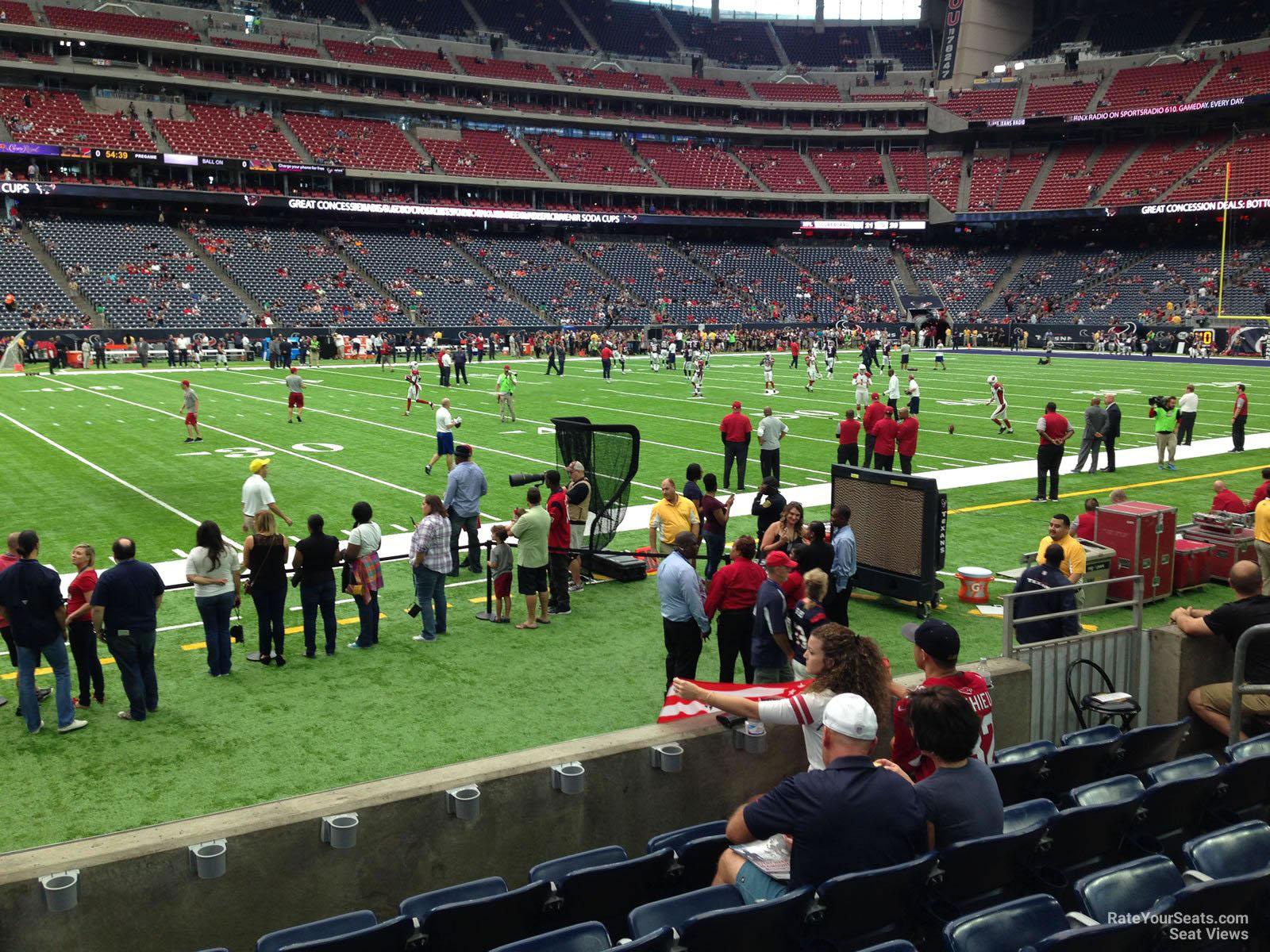 Nrg Stadium Section 129 Houston Texans Rateyourseats Com