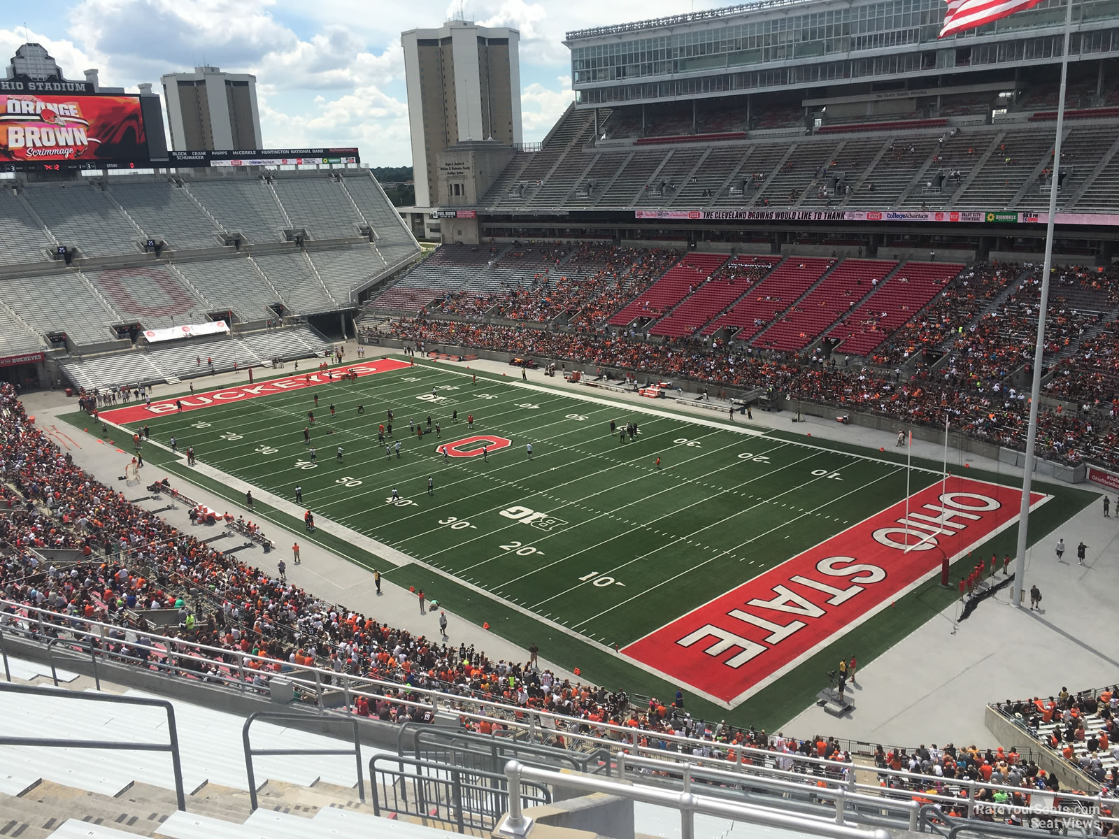 Ohio Stadium Seating Chart With Rows And Seat Numbers