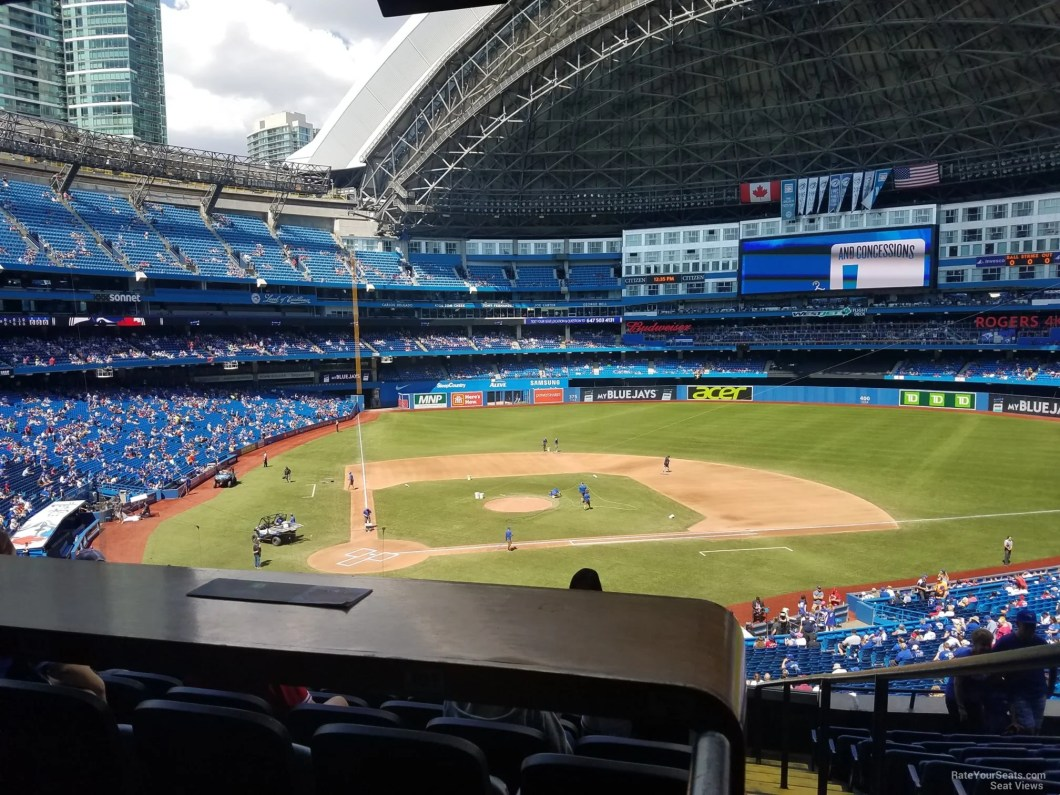 Rogers Center Seating For Blue Jays Games Elcho Table