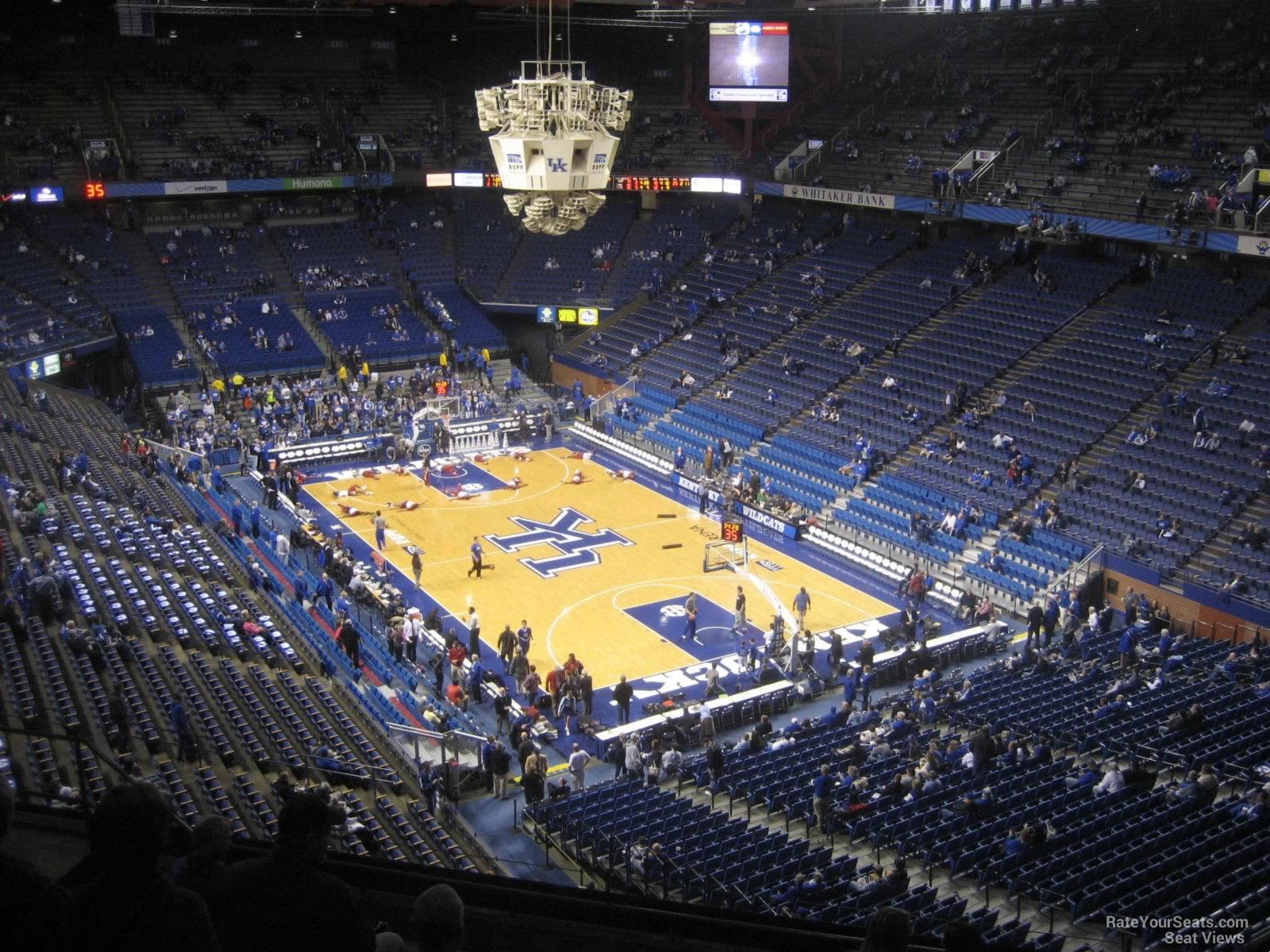 Rupp Arena Section 225 Kentucky Basketball