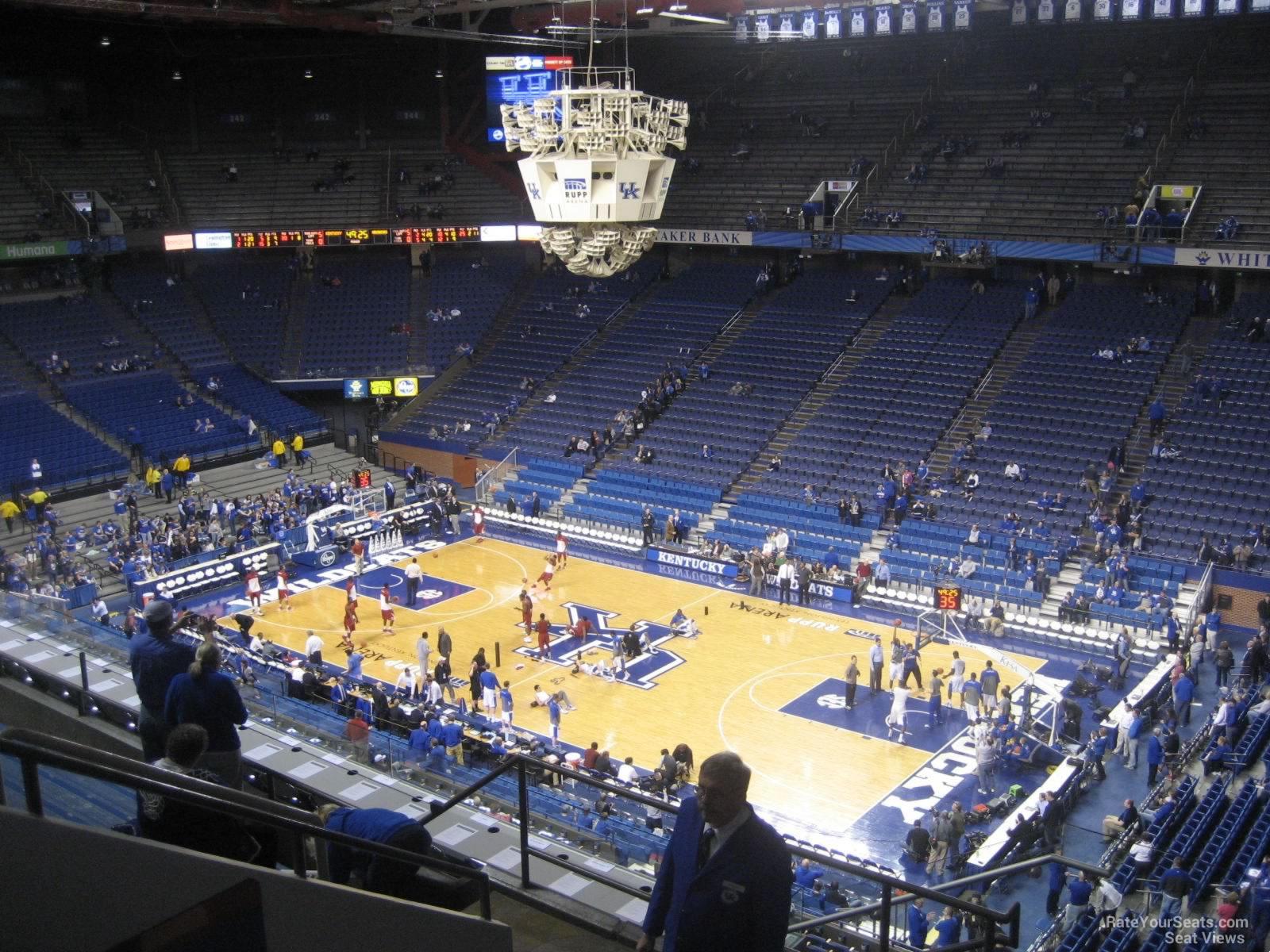 Rupp Arena Section 228 Kentucky Basketball