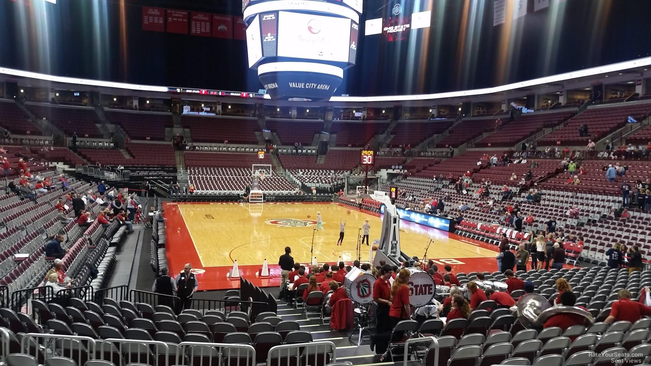 Schottenstein Center Section 117 Ohio State Basketball