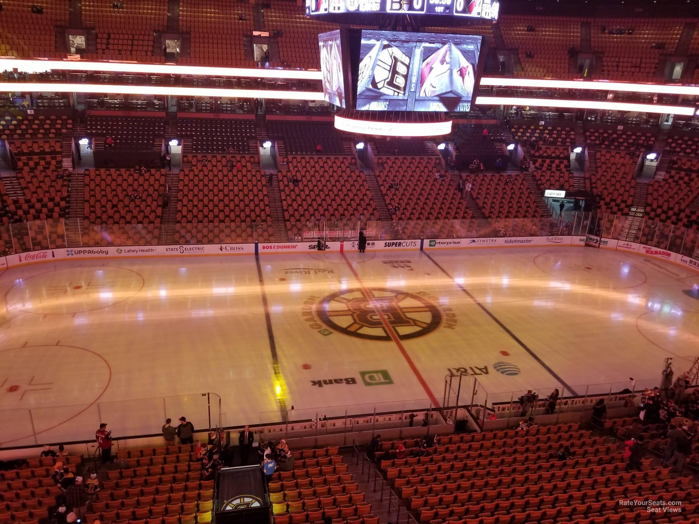 TD Garden Section 302 Boston Bruins