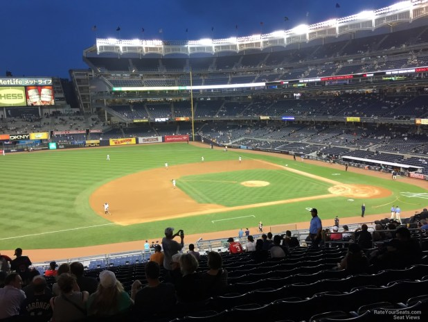 New York Yankees Seat View For Yankee Stadium Section 226