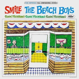 Convoluted Conversation Part 3: cover of the original Beach Boys' SMILE album 1966.