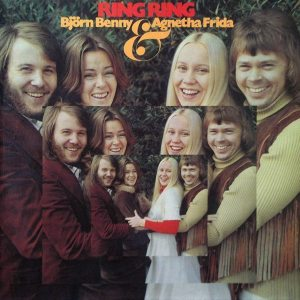 Hyperbolic Exaggeration: ABBA's first album from Sweden in 1974.