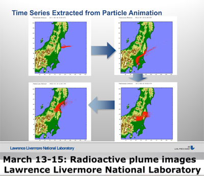 March 13-15: Radioactive plume images Lawrence Livermore National Laboratory