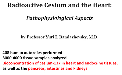 Radioactive Cesium and the Heart: Pathophysiological Aspects