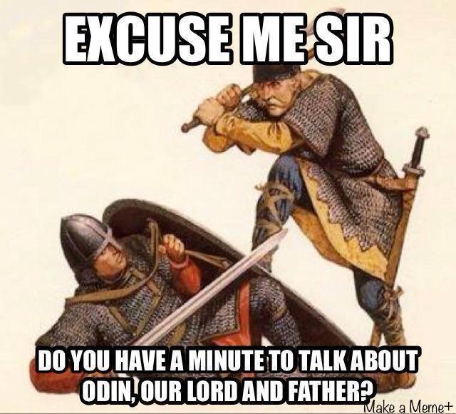 Can a Heathen follow Christ?