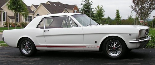 Author's 1965 Mustang GT Coupe
