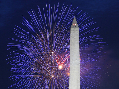 Washington Monument Fireworks