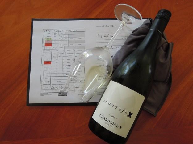Shadowfax Chardonnay 2012