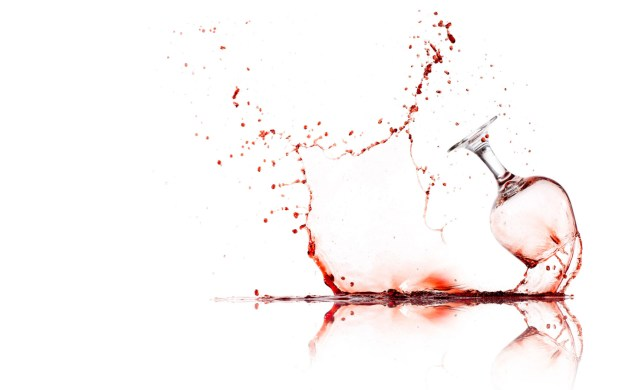 What may happen if your glass is too full