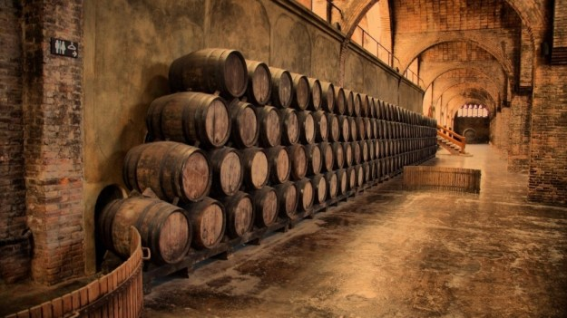 barrels-in-wine-cellar-hd-wallpaper