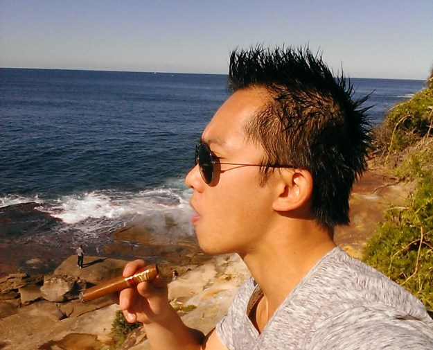 Cigar On The Beach