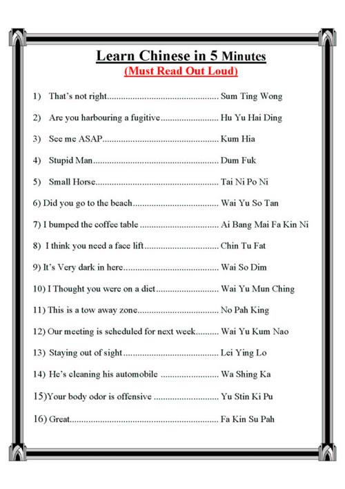 Learn+chinese+in+5+minutes
