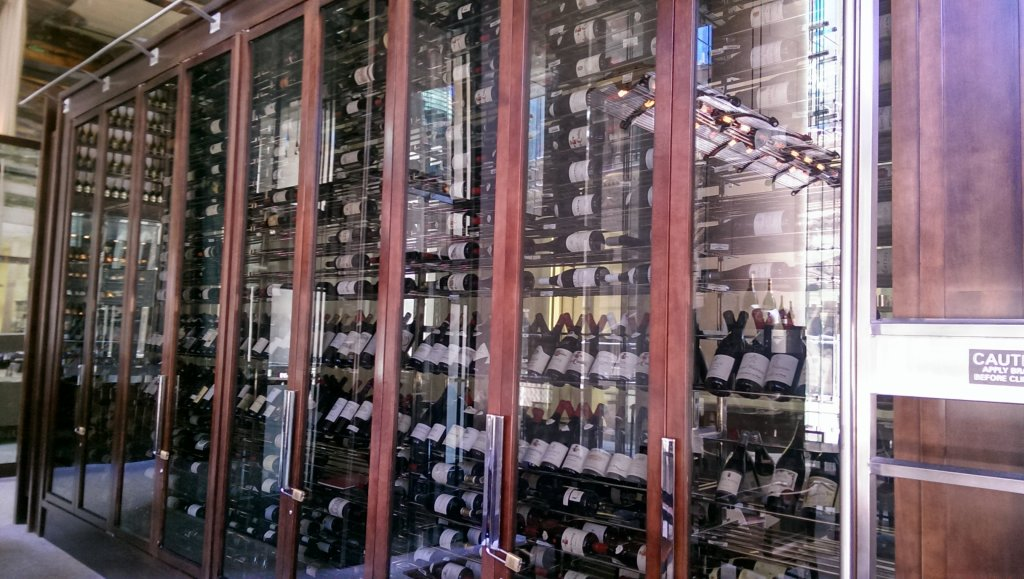 Personally, I prefer a well-stocked wine wall