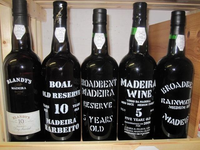 Madeira Bottles