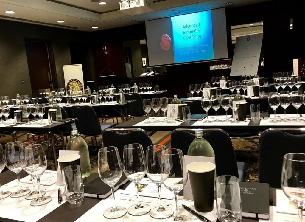 The First Day. Photo by Court of Master Sommeliers EU.