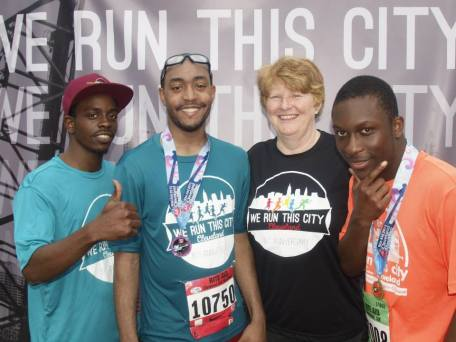 Ratliff & Taylor supported the Cleveland YMCA's We Run This City Youth Marathon Program