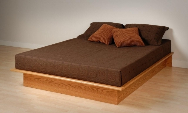 Platform Bed Frame With Mattress Plans Picture 80