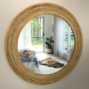 large arlo mirror in bedroom