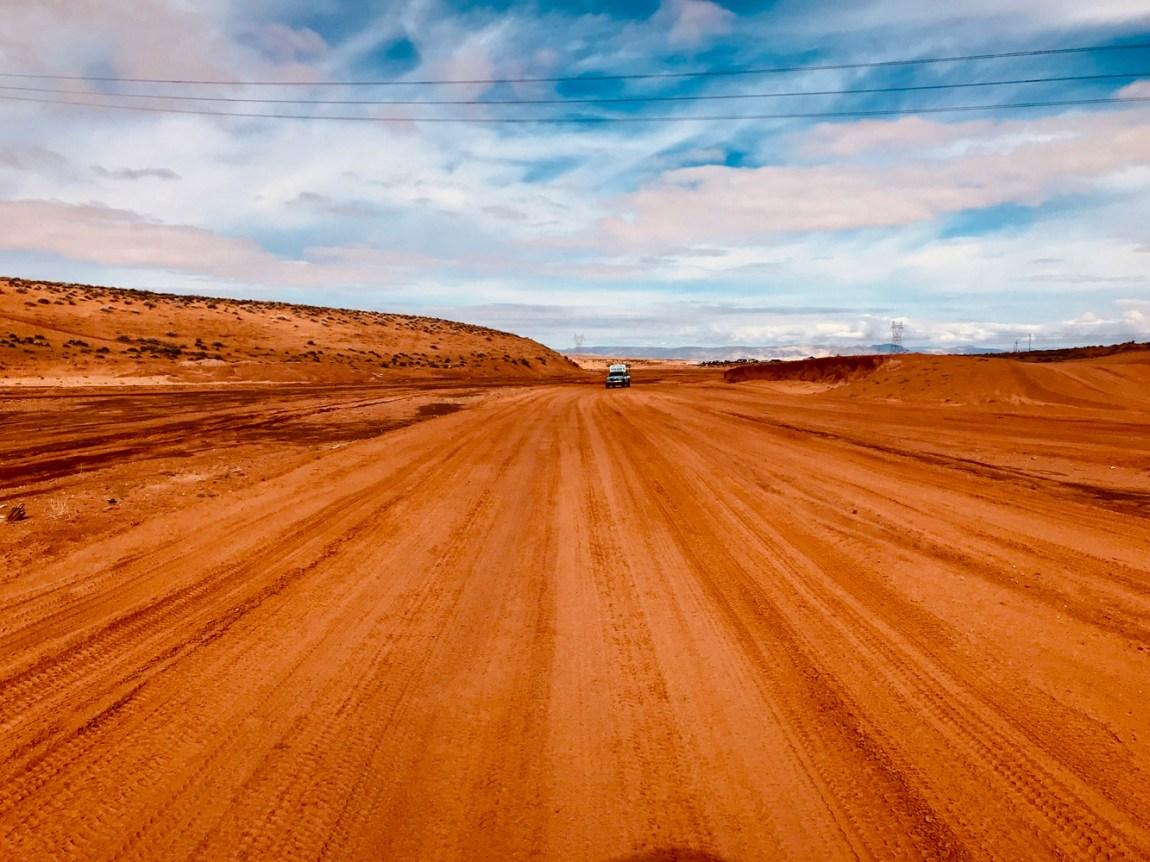 Desert Road by Ellen McCarthy