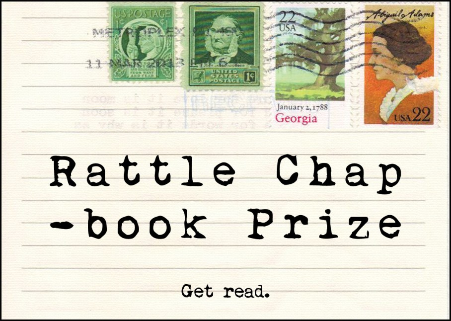 Rattle Chapbook Prize: Get Read.