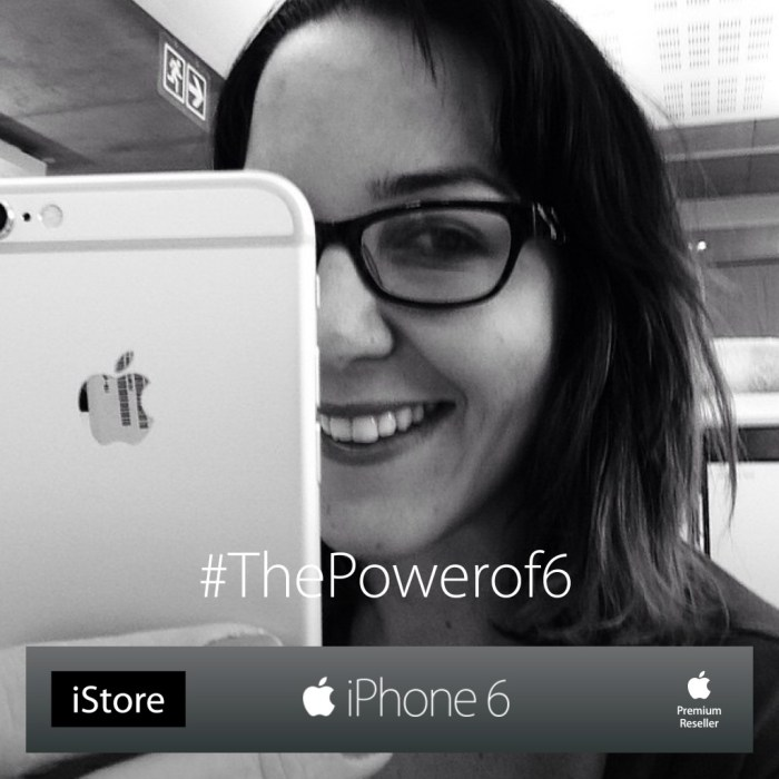 C1761 iStore iPhone the power of 63