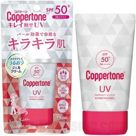 Coppertone Perfect UV Cut KIREIMISE-k