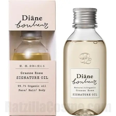 Diane Bonheur Grasse Rose Signature Oil
