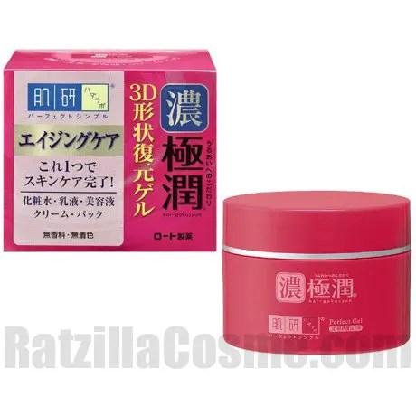 Rohto hada labo koi gokujyun 3d perfect gel for Perfect koi