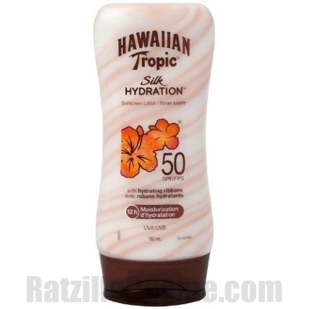 Hawaiian Tropic Silk Hydration Sunscreen Lotion SPF50