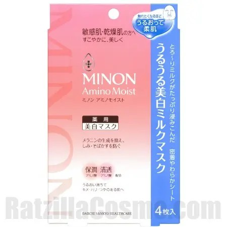 MINON Amino Moist Moist Whitening Milk Mask