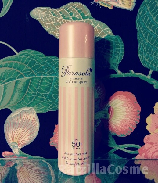 Parasola Essence In UV Cut Spray EX, a Japanese sunscreen review