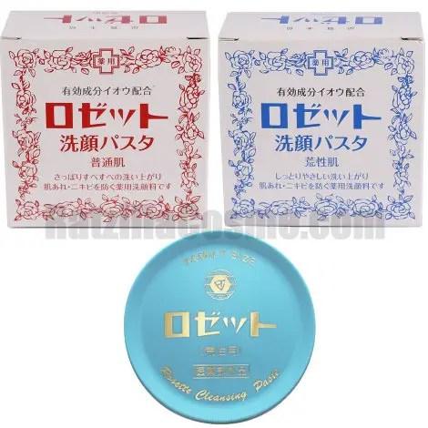 ROSETTE Cleansing Paste (Normal Skin Dry Skin)